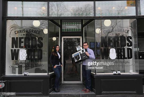 Their collection includes some Kodak shop props Tour of A Nerd's World a 'creative space' run by a young Toronto couple with a serious love for...
