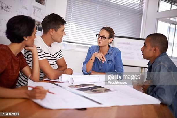 Su grupo de diversos profesionales para que los resultados