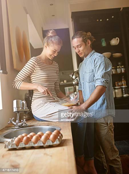 Ihren Lieblingsort ist in der Küche
