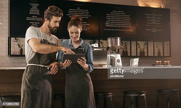 Their little coffee shop helper