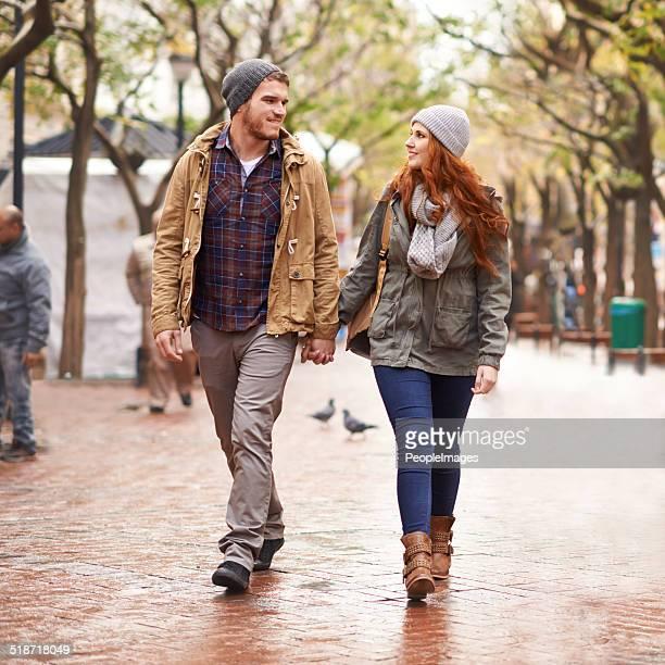 Leur amour se réchauffe le froid