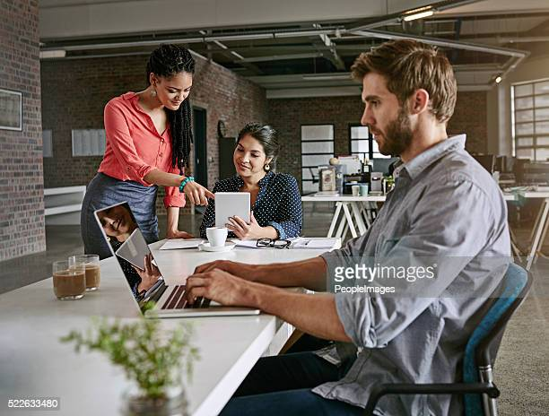 Their office runs on hard work and dedication