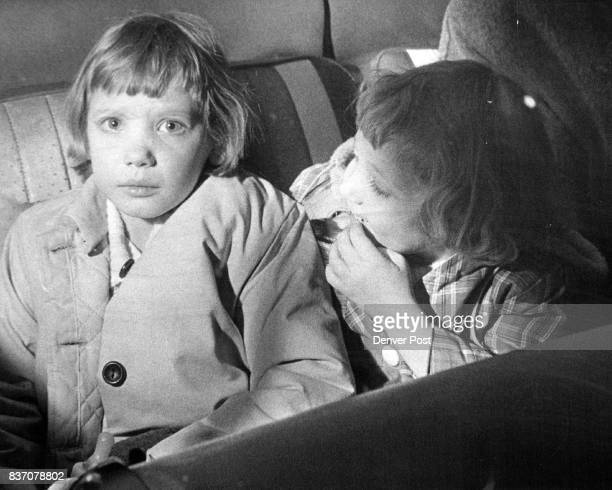 Their Stepfather was shot down in Front of their Home Becky Pope and Cheryl Pope sit in the ambulance after the fatal shooting Credit Denver Post