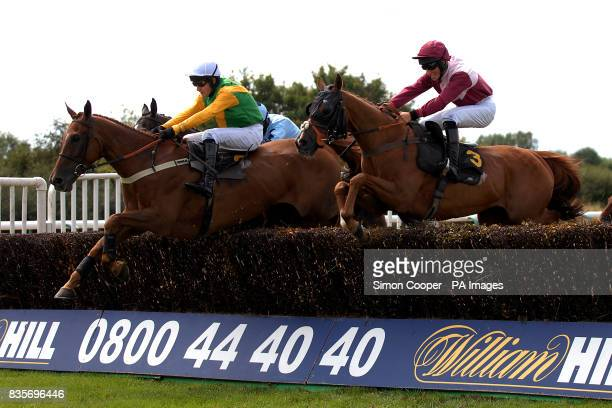 Theladnextdoor ridden by Alex Merriam and House Of Bourbon ridden Dean Coleman