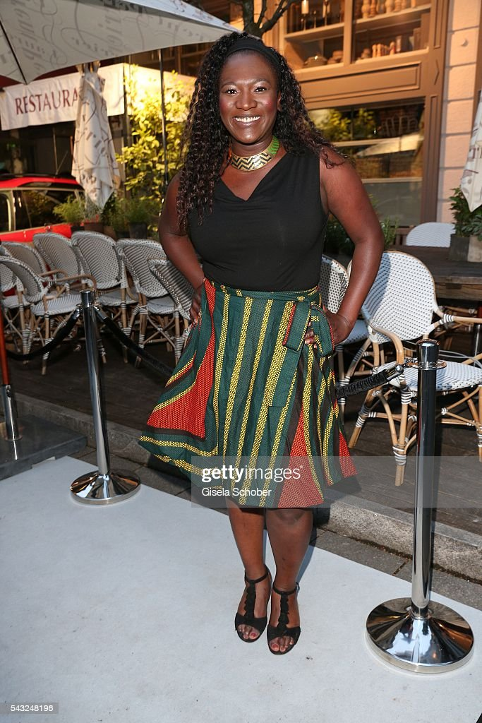 Thelma Buabeng during the Peugeot BVC Casting Night during the Munich Film Festival 2016 at Kaeferschaenke on June 26, 2016 in Munich, Germany.