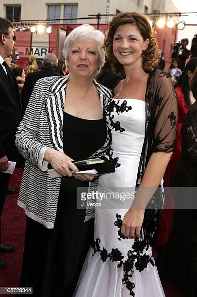 Thelma Schoonmaker editor and niece Christine during The 77th Annual Academy Awards Executive Arrivals at Kodak Theatre in Hollywood California...