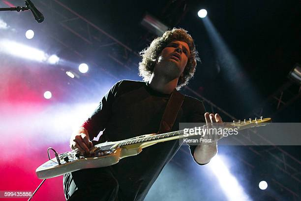 Theo Ellis of Wolf Alice performs at Electric Picnic at Stradbally Hall Estate on September 4 2016 in Dublin Ireland