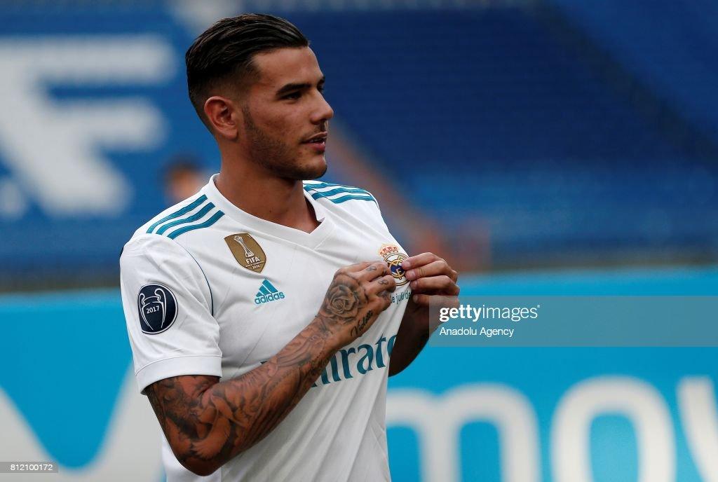 Real Madrid's new transfer Theo Hernandez : Fotografía de noticias