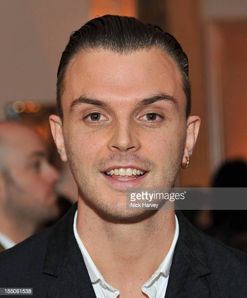 Theo Hutchcraft attends the Harper's Bazaar Woman of the Year Awards at Claridge's Hotel on October 31 2012 in London England