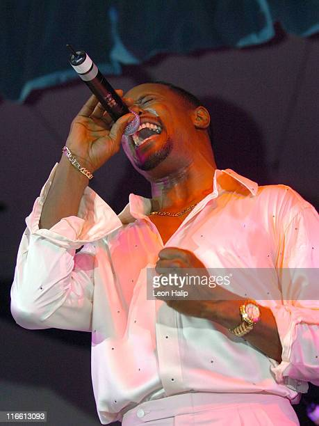 Theo Peoples of the Four Tops during Super Bowl XL PreSuper Bowl Event for Euro RSCG Motown Music Fest February 4 2006 at Masonic Temple in Detroit...