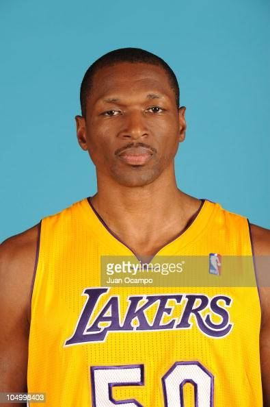 Theo ratliff of the los angeles lakers poses for a portrait during nba