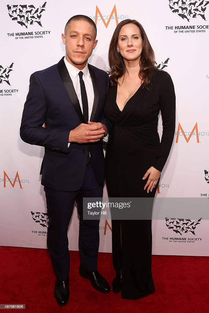 Theo Rossi and Meghan McDermott attend The Humane Society Gala at Cipriani 42nd Street on November 13, 2015 in New York City.