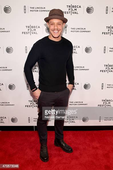 Theo Rossi attends Sinatra at 100 Music and Film Lincoln Screening of 'On The Town' and performances during the 2015 Tribeca Film Festival at Spring...