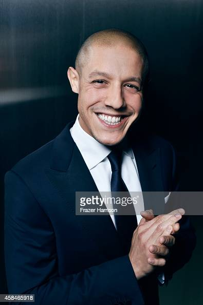 Theo Rossi poses for a portrait at the amfAR LA Inspiration Gala on October 29 2014 in Los Angeles California