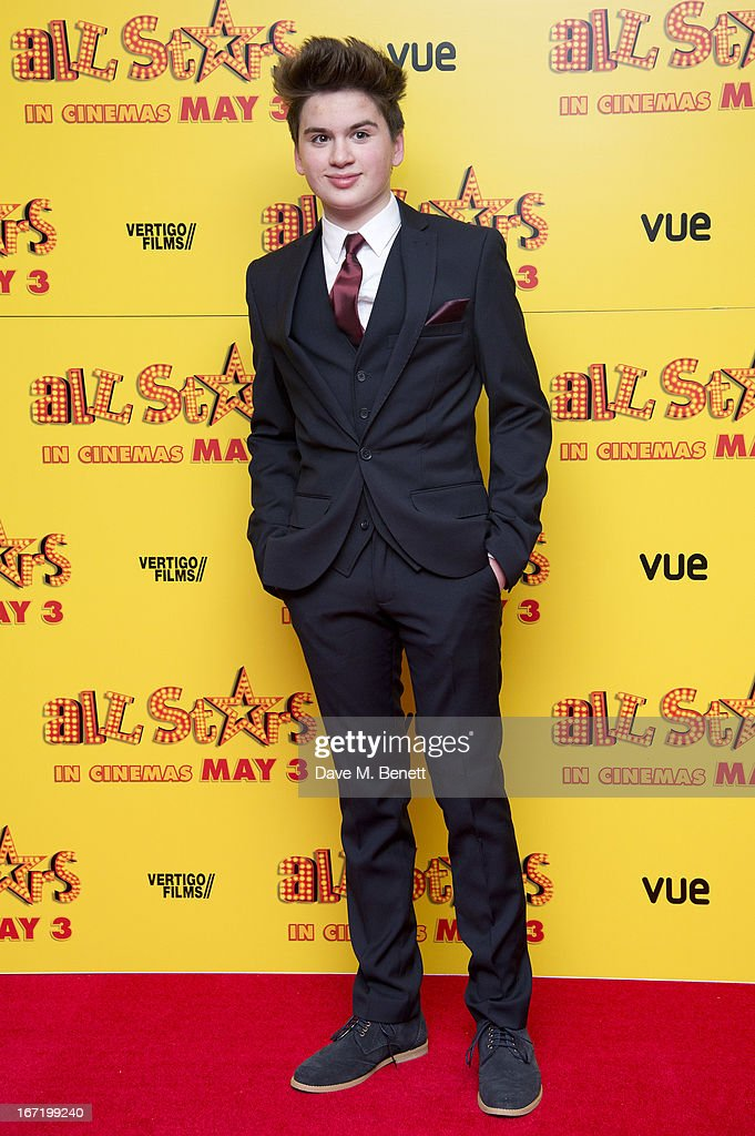 <a gi-track='captionPersonalityLinkClicked' href=/galleries/search?phrase=Theo+Stevenson&family=editorial&specificpeople=7761174 ng-click='$event.stopPropagation()'>Theo Stevenson</a> attends the UK Premiere of 'All Stars' at Vue West End on April 22, 2013 in London, England.
