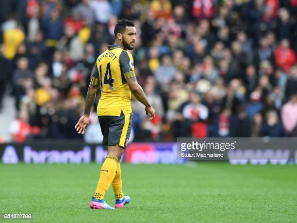 Theo Walcott of Arsenal during the Premier League match between West Bromwich Albion and Arsenal at The Hawthorns on March 18 2017 in West Bromwich...