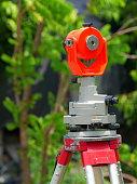 Outdoors, Close-up, Land, Laser, Surveyor