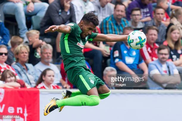 Theodor Gebre Selassie of Bremen controls the ball during the Telekom Cup 2017 match between Borussia Moenchengladbach and Werder Bremen at on July...