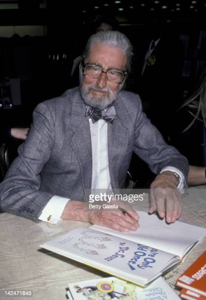 Theodor Geisel attends Dr Suess InStore Appearance on March 1 1986 at Caldor in Yonkers New York