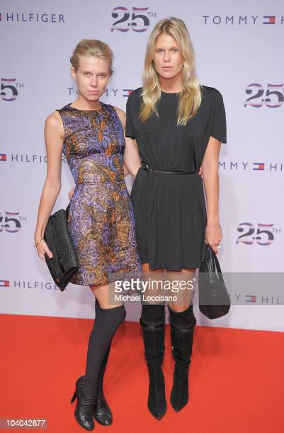 Theodora Richards and Alexandra Richards attend the Tommy Hilfiger 25th anniversary celebration at The Metropolitan Opera House on September 12 2010...