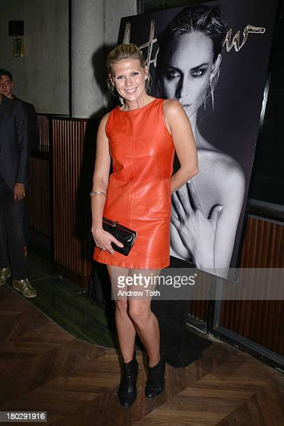 Theodora Richards attends the Interview Magazine's Model Issue Party at Monarch on September 10 2013 in New York City
