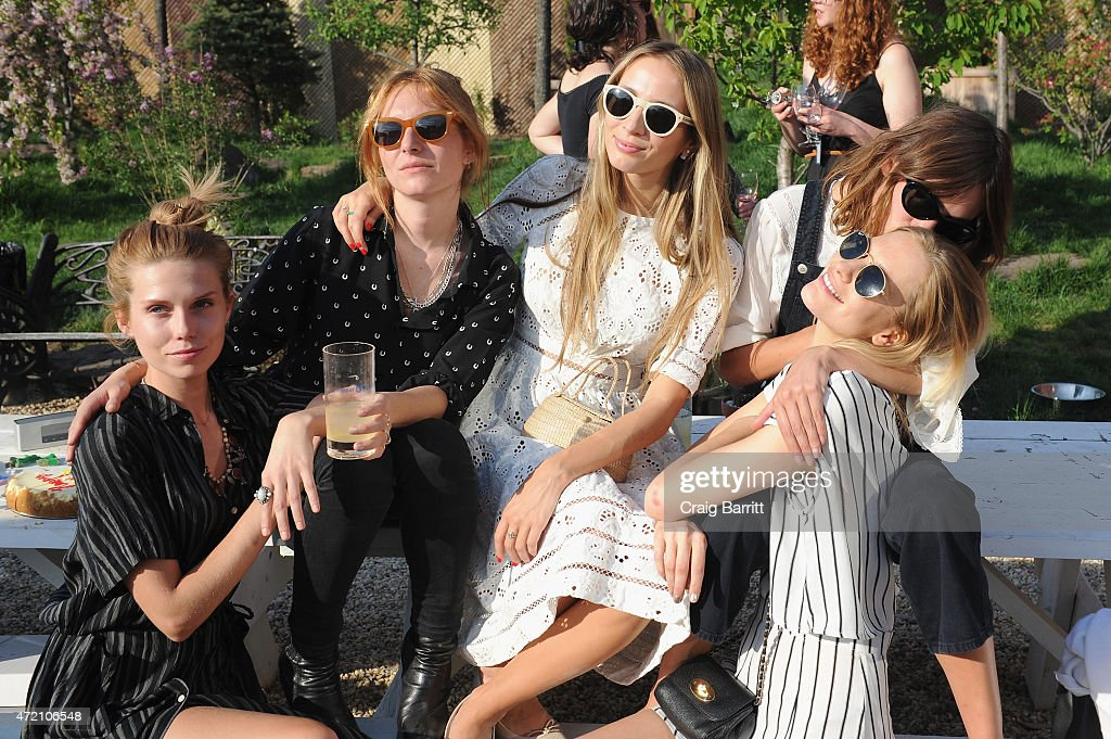 Theodora Richards Harley VieraNewton Alexa Chung and Poppy Delevingne attend Pioneer Works 2nd Annual Village Fete presented by BOMBAY SAPPHIRE GIN...