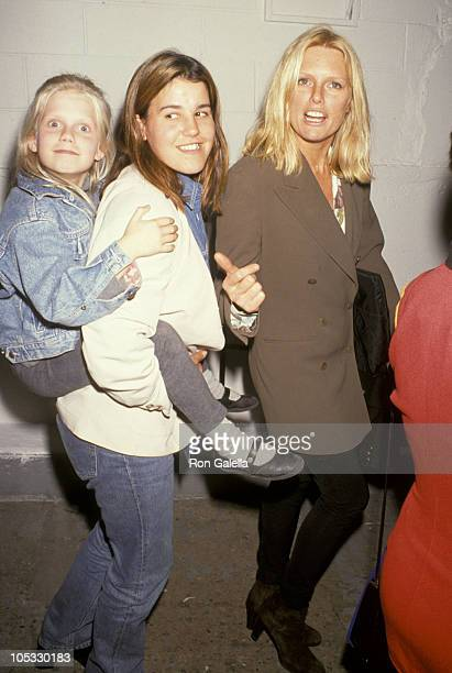 Theodora Richards her nanny and mother Patti Hansen