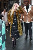 Celebrity Sightings in New York City - February 23, 2018