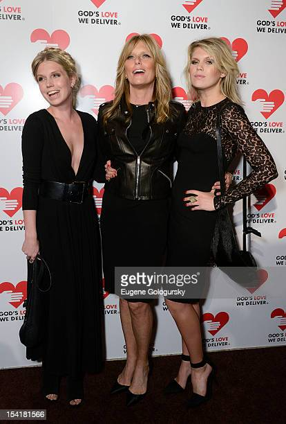 Theodora Richards Patti Hansen and Alexandra Richard attend the God's Love We Deliver 2012 Golden Heart Awards Celebration at Cunard Building on...