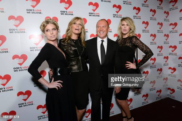 Theodora Richards Patti Hansen Michael Kors and Alexandra Richard attend the God's Love We Deliver 2012 Golden Heart Awards Celebration at Cunard...