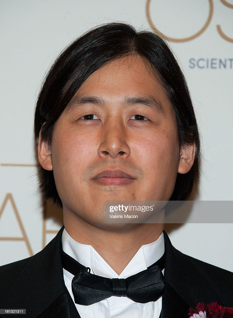 Theodore Kim arrives at the Academy Of Motion Picture Arts And Sciences' Scientific & Technical Awards at Beverly Hills Hotel on February 9, 2013 in Beverly Hills, California.