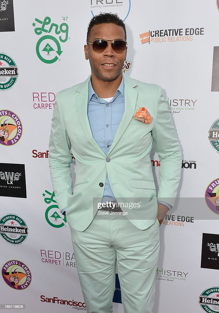 Theodore Palmer attends the 6th Annual 'Where Hip Hop Meets Couture' Fashion Show at Dog Patch Wine Works on March 30, 2013 in San Francisco, California.