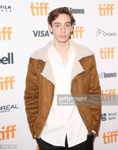 Theodore Pellerin arrives at the TIFF Soiree held during the 2017 Toronto International Film Festival at TIFF Bell Lightbox on September 6 2017 in...
