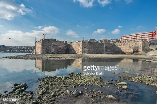Theodosian Walls of Istanbul by the Sea