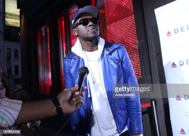 Theophilus London attends as Delta Air Lines celebrate the opening night of T4X a pop up experience showcasing distinctive features of the airline's...
