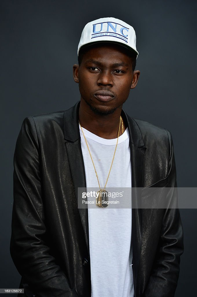 <a gi-track='captionPersonalityLinkClicked' href=/galleries/search?phrase=Theophilus+London&family=editorial&specificpeople=5770992 ng-click='$event.stopPropagation()'>Theophilus London</a> attends the Chanel Fall/Winter 2013 Ready-to-Wear show as part of Paris Fashion Week at Grand Palais on March 5, 2013 in Paris, France.