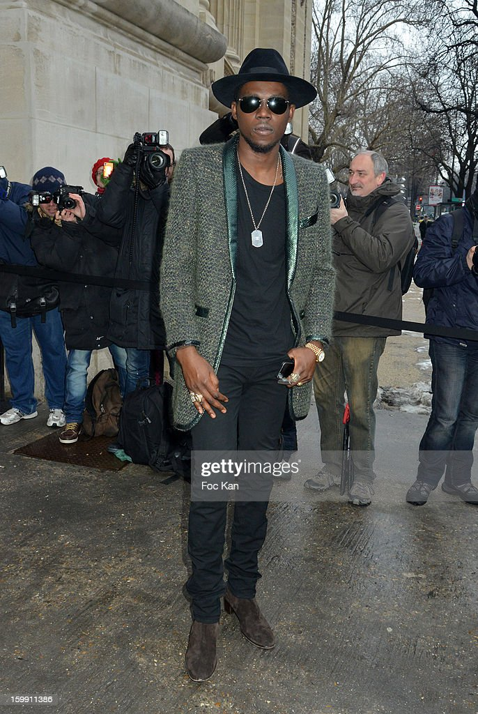 <a gi-track='captionPersonalityLinkClicked' href=/galleries/search?phrase=Theophilus+London&family=editorial&specificpeople=5770992 ng-click='$event.stopPropagation()'>Theophilus London</a> attends the Chanel Spring/Summer 2013 Haute-Couture show as part of Paris Fashion Week at Grand Palais on January 22, 2013 in Paris, France.