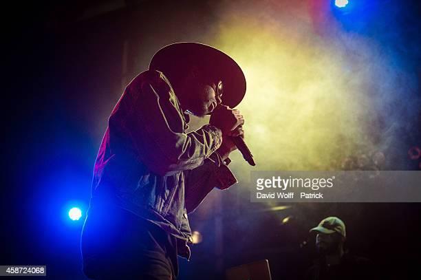 Theophilus London performs during Howl Festival at La Gaite Lyrique on November 9 2014 in Paris France