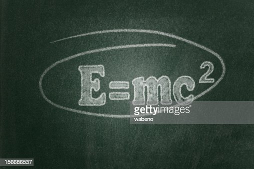 Theory of Relativity : Stock Photo