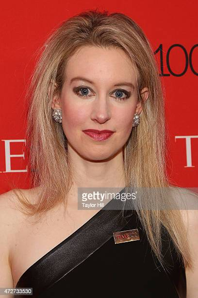 Theranos founder and inventor Elizabeth Holmes attends the 2015 Time 100 Gala at Frederick P Rose Hall Jazz at Lincoln Center on April 21 2015 in New...