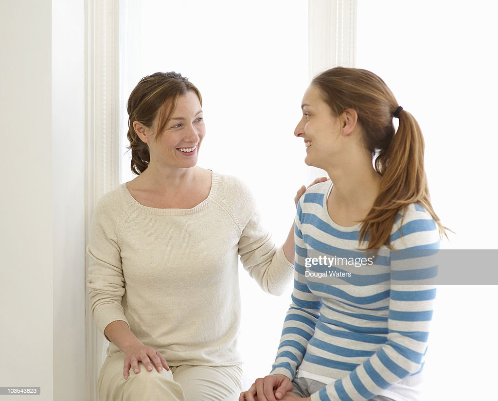 Therapist with patient. : Stock Photo