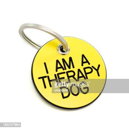 セラピー犬用ネームタグ