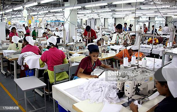 There are more than 175 factories employing about 80 000 workers 80% of whom are females in the Chittagong Export Processing Zone in Chittagong...