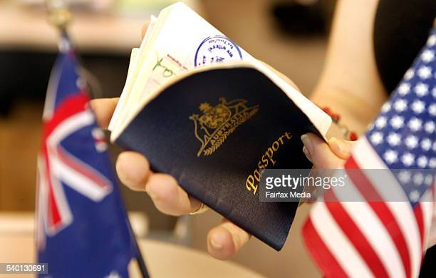 There are now new procedures for obtaining a passport 23 December 2004 AFR Picture by JIM RICE