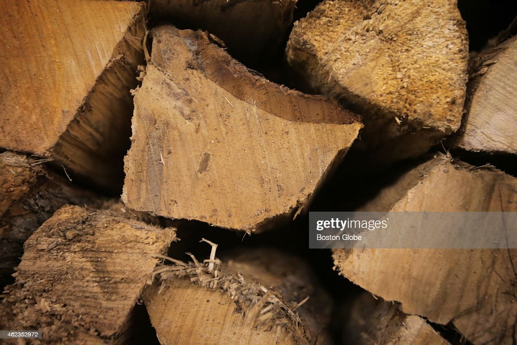 There is a shortage of firewood in New England Mahoney's Garden Center in Winchester stocks kilndried firewood