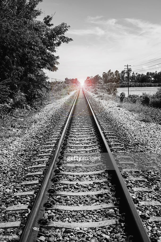 There light at the end of the tunnel', success way : Stockfoto