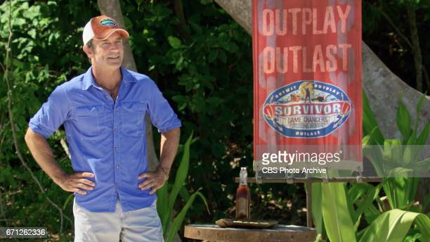 'There's A New Sheriff in Town' Jeff Probst on the eighth and ninth episode of SURVIVOR Game Changers airing Wednesday April 19 on the CBS Television...