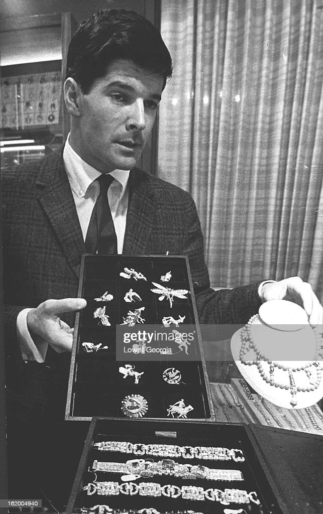 NOV 12 1964 NOV 16 1964 There's Money In Those Diamonds Diamond fancier Joel Laykin displays collection of highly valued items of jewelry he is now...
