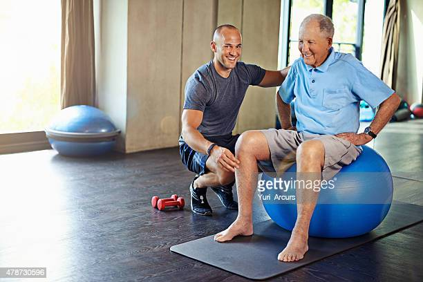 There's no age limit on a healthy lifestyle
