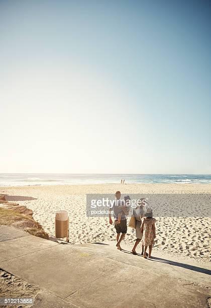 Não há lugar como a praia